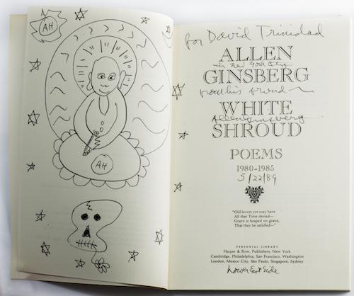 9.White Shroud with signature