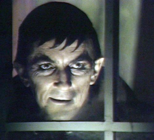 Vampire Barnabas Collins (Jonathan Frid), source of Tony Trigilio's childhood nightmares.