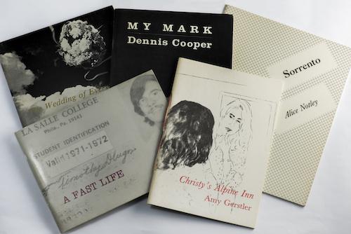 Sherwood Press chapbooks, 1981-1984.