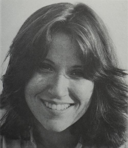Rachel's favorite photograph of herself, circa 1976.