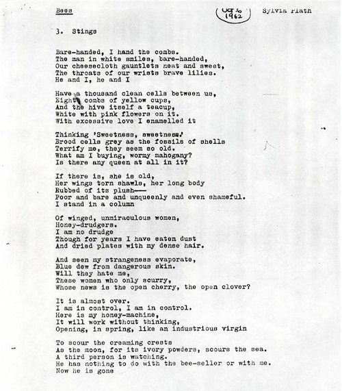 "sylvia plath and her poem daddy Critical analysis and research on sylvia plath's "" these lines identify the daddy in the poem as a colossus who stretches across america from the atlantic."