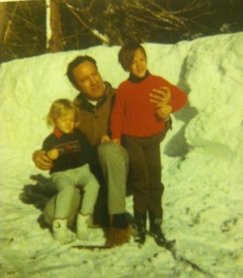 My father, my brother and I