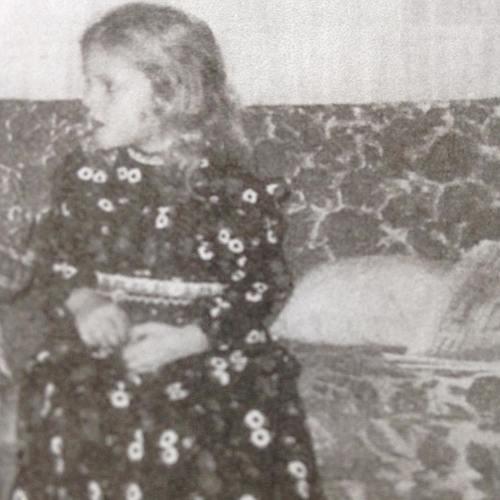 Myself as a child