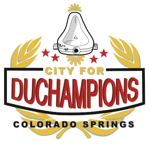 "Artist Corie Cole redesigned Colorado Springs' ""City for Champions"" logo to more accurately reflect our values."