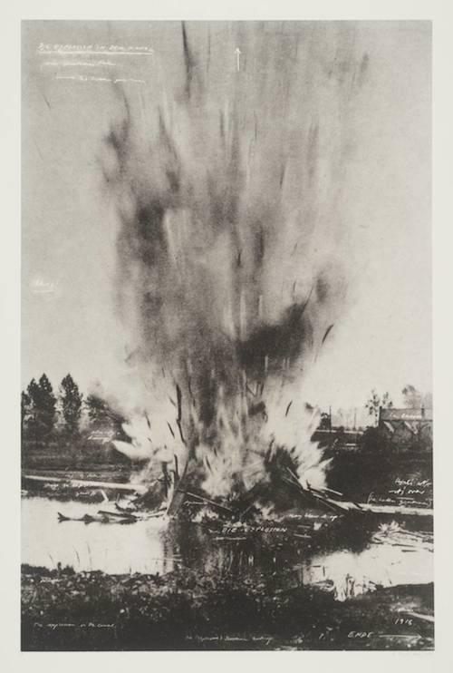 Tacita Dean, Die Explosion in dem Kanal, from The Russian Ending, 2001.
