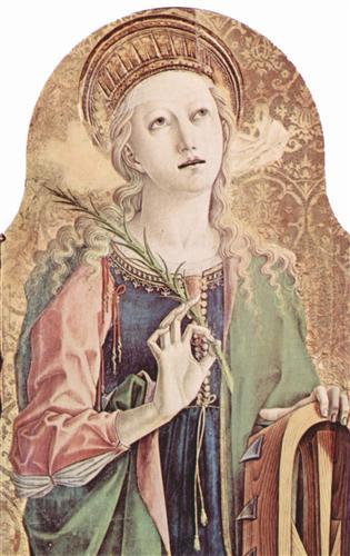 Saint Catherine of Alexandria, Carlo Crivelli
