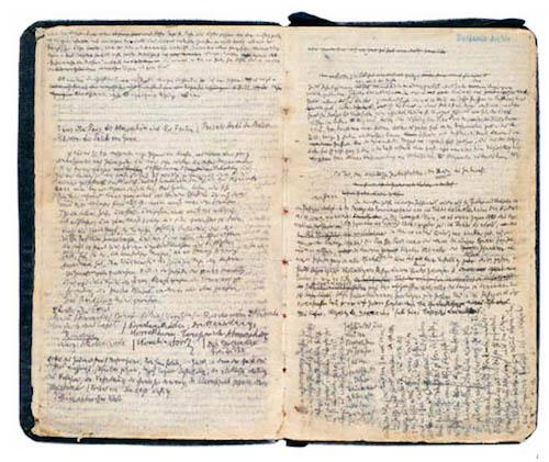Notebook, Walter Benjamin
