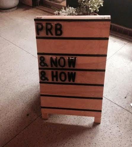 sandwich board marquee!