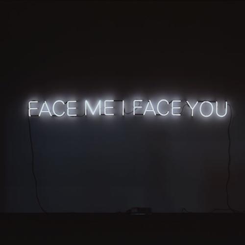 Glenn Ligon, Palindrome #1, Phoenix Art Museum