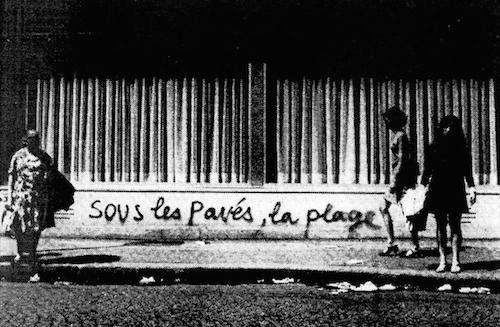 Anonymous graffiti, Paris, 1968.