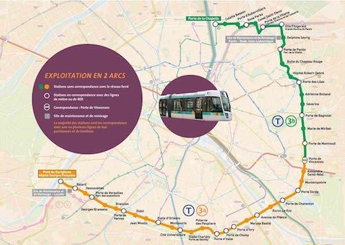 T3 tram line. Via RATP
