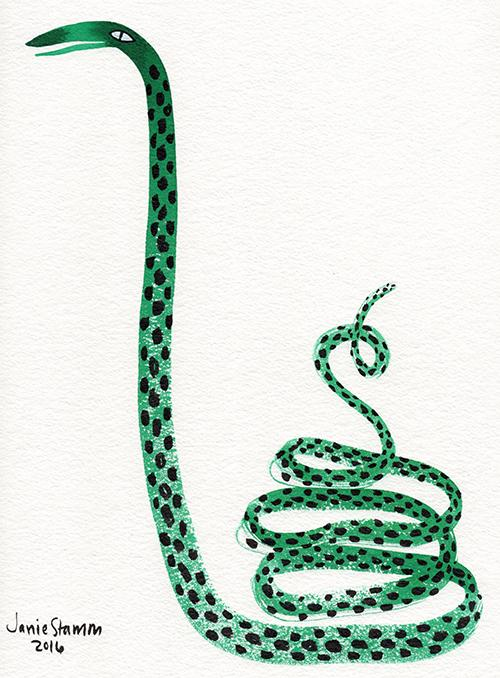 """""""Green Coil,"""" 2016"""