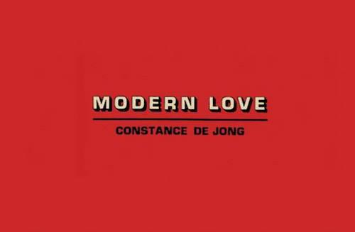 Constance DeJong Modern Love