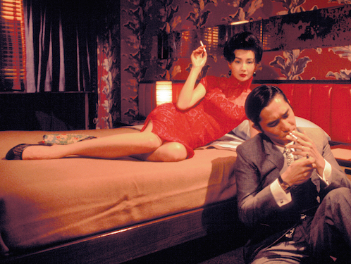 Maggie Cheung in Wong Kar Wai's In the Mood for Love (2000).