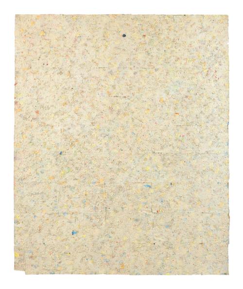 Howardena Pindell. Untitled #19, 1977.