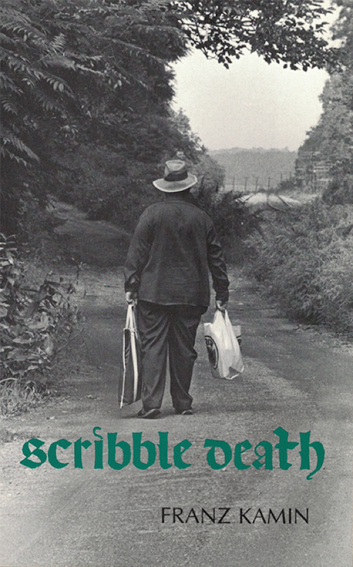 Franz Kamin's Scribble Death, cover