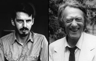 Robert Creeley and Edward Dorn