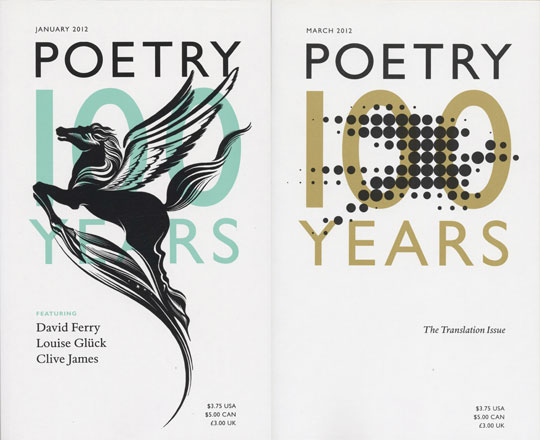 100 Years of Poetry: Designing the Magazine, 1912–2012 by