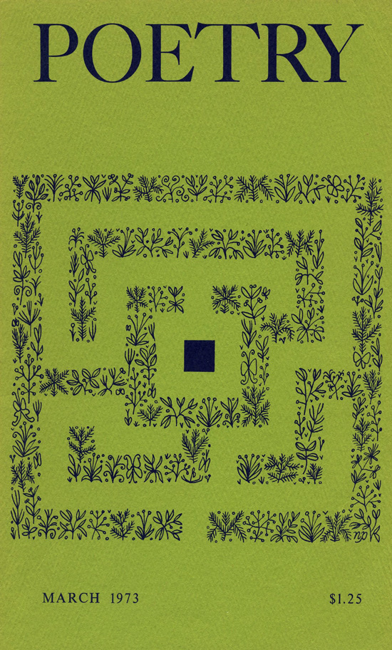 Poetry Magazine Cover Art From The 1970s Foundation By