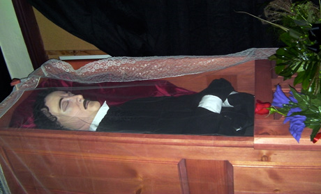 Celebrity Funerals Open Casket