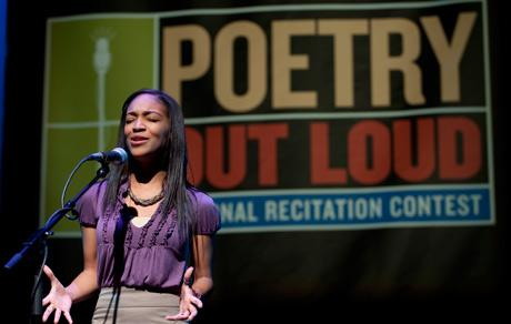 Poetry Out Loud, 2010
