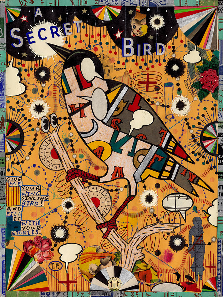 Tony Fitzpatrick: The Secret Bird