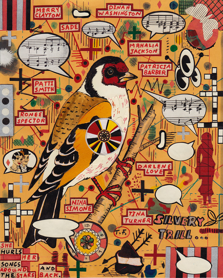 Tony Fitzpatrick: The Goldfinch