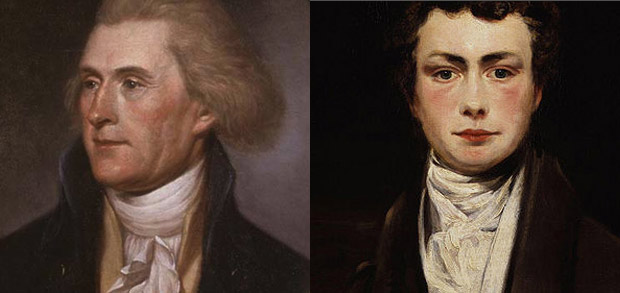 Thomas Jefferson and Thomas Moore
