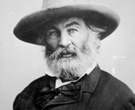 Portrait: Walt Whitman courtesy Poetry Foundation