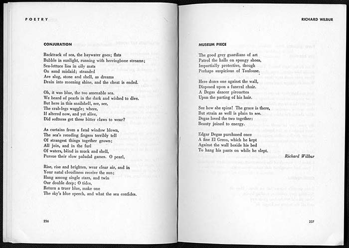 analysis of the writer by richard wilbur The writer by richard wilbur is a complex poem with a symbolic meaning referring to life i believe that the speaker is a father, deeply reflecting upon.