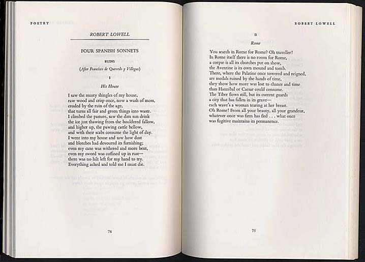 robert lowell essays on the poetry