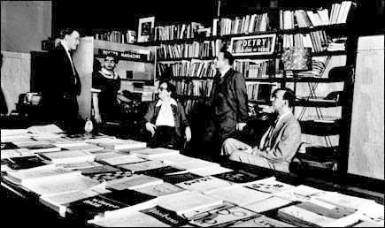 Poetry staff 1956, editor Henry Rago