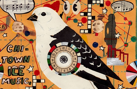 The Secret Birds: New Drawings by Tony Fitzpatrick